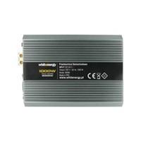 Napěťový měnič DC/AC 24V/230V 1000W, 2 zásuvky AC (06588)