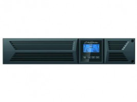 "Power Walker UPS On-Line 3000VA, 19"" RM, 2U, 8x IEC, RJ11/RJ45, USB/RS-232, LCD (VFI 3000RT LCD)"
