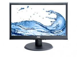 """AOC LCD e970swn 18,5"""" LED, 5ms, DC16mil.:1, č"""