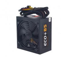 EUROCASE zdroj ECO+85 700W ATX 14cm fan, PFC ATX 20/24pin, 6x SATA modular (ATX-700WA-14-85-M)