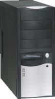EUROCASE MidT ML-5410 CAROUO 350W/12cm/PFC, černostříbrná (ML5410CAROHO350X7)