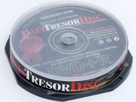 Média DVD+R DTD 160let životnost 4,7GB 4x, 50ks cb (DTD50CB)