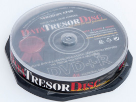 Média DVD+R DTD 160let životnost 4,7GB 4x,100ks cb (DTD100CB)