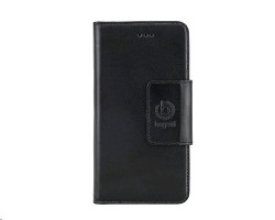 Bugatti - Kožené pouzdro, černé, pro Samsung Galaxy S6 (bugatti_08754)