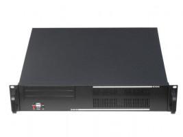 """Gembird 19"""" serverové šasi ATX 19""""/2U, černé (19CC-2U-01)"""