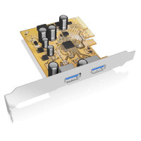 Icy Box USB 3.1 PCI-E expansion card s 2x Type-A interface (IB-U31-02)