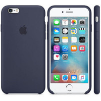 Apple iPhone 6S Silicone Case Midnight Blue (MKY22ZM/A)