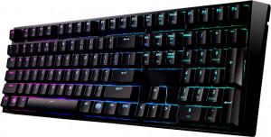 Cooler Master herní mechanická klávesnice Masterkeys Pro L, Cherry MX Red, backlight, USB, ENG (SGK-6020-KKCR1-US)