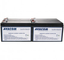 Bateriový kit AVACOM AVA-RBC23-KIT náhrada pro renovaci RBC23 (4ks baterií)