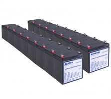 Bateriový kit AVACOM AVA-RBC44-KIT náhrada pro renovaci RBC44 (16ks baterií)
