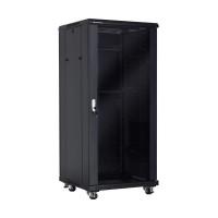 """Linkbasic stojící skříně 19"""" 37U 600x600mm - černá (prosklené dveře) (NCE37-66-BAA-C)"""