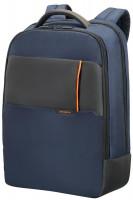 "Backpack SAMSONITE 16N01006 QIBYTE 17,3"" comp, blue (16N-01-006)"