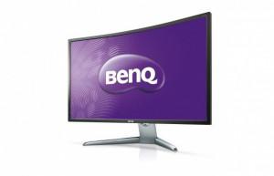 """BENQ MT LCD LED 32"""" EX3200R, kabely v balení miniDP-DP, HDMI 1.4"""