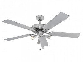 AEG ceiling fan D-VL 5667 incl. illumination (inox)