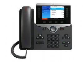 Cisco IP Phone 8851 - Telefon VoIP - SIP, RTCP, RTP, SRTP, SDP - 5 řádků