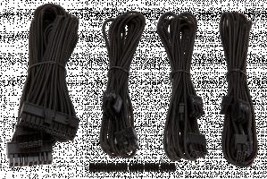 Corsair Professional Individually sleeved DC kabel Kit, Type 4 (gen. 3), black