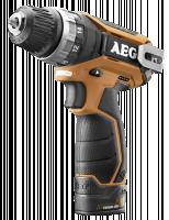 AEG BS 12 C2 (2x1,5 Ah PRO Li) Aku-Kompakt. vrtací šroubovák (4935448464)
