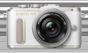 Olympus E-PL8 Pancake sada + 14-42 EZ white/silver